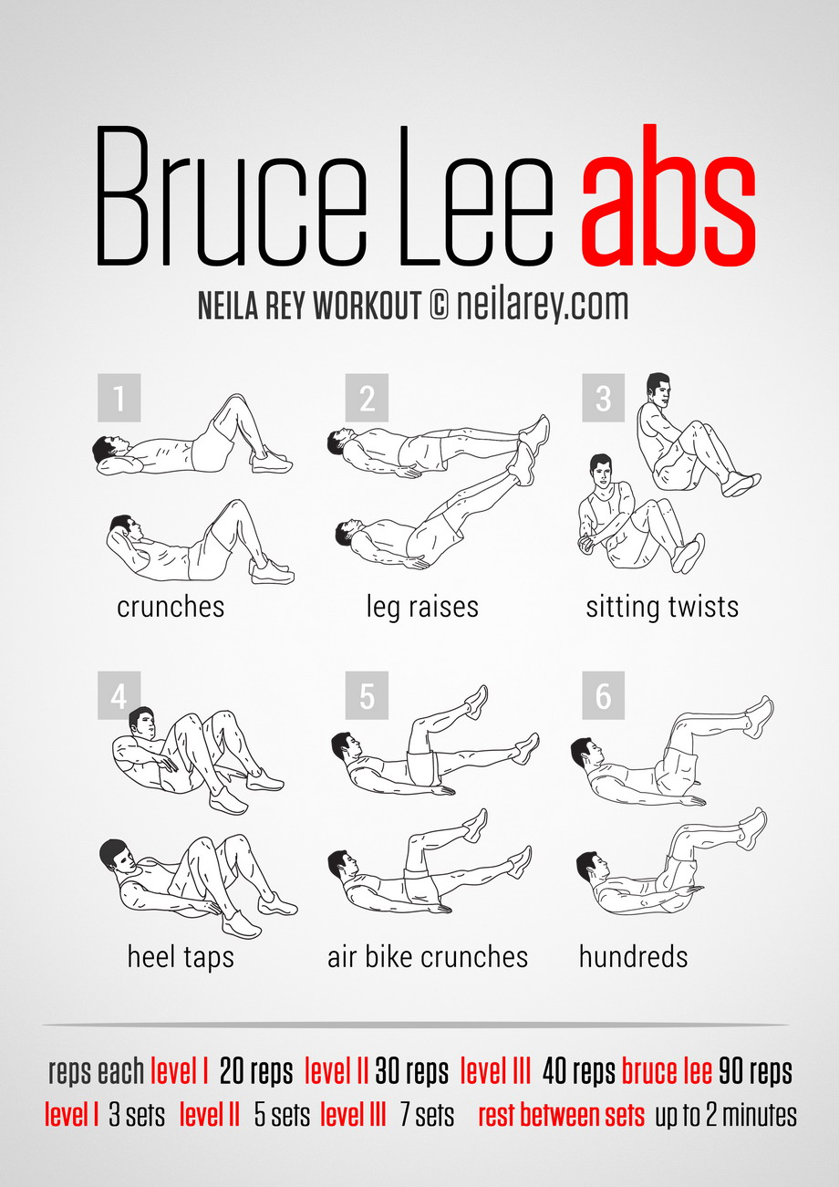 Ab workouts at home without equipment for men