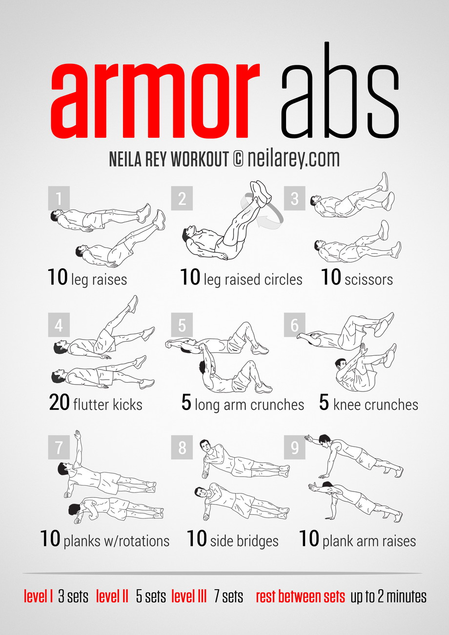 how to get rock hard abs without equipment