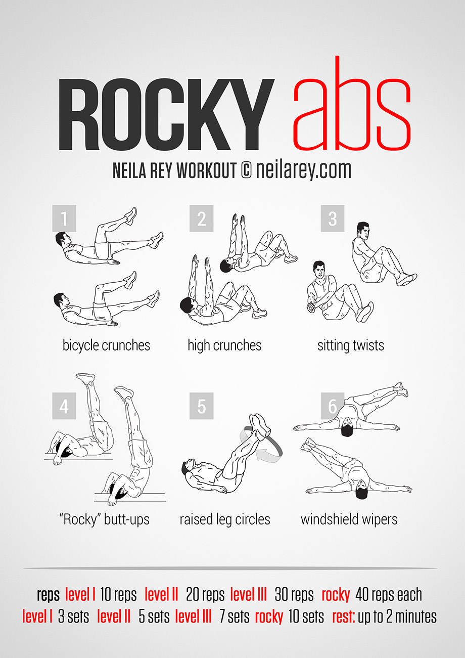 Rocky Abs -Abs with No Gym