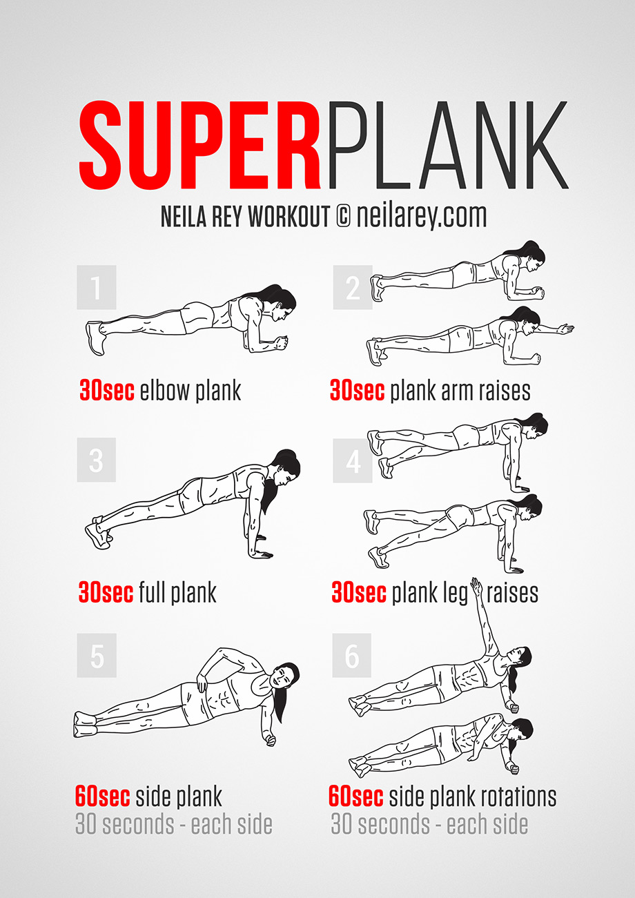 Suplerplank Workout For Men