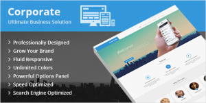 Corporate-Company-Wordpress Theme