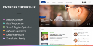 Entrepreneurship-Wordpress Theme