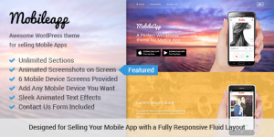 MobileApp-WordPress Theme