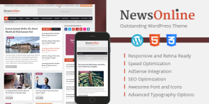 NewsOnline-WordPress Theme