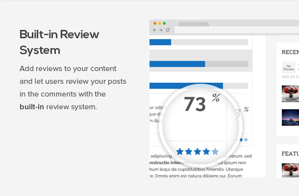 SEO Friendly WordPress Themes with Schema Features plus review markup