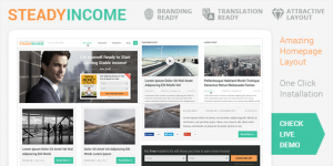 SteadyIncome-WordPress Theme