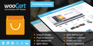 WooCart-WordPress Theme SEO friendly