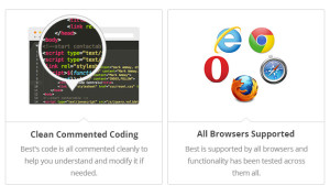 best -seo theme  features- less coding errors and browser support