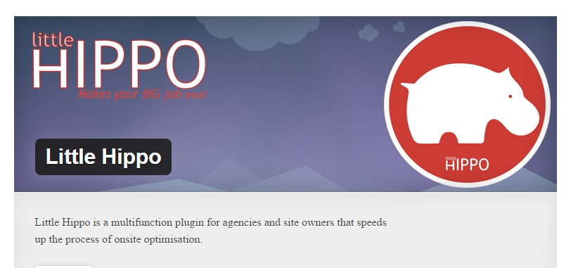 Little Hippo SEO Plugin For Wordpress