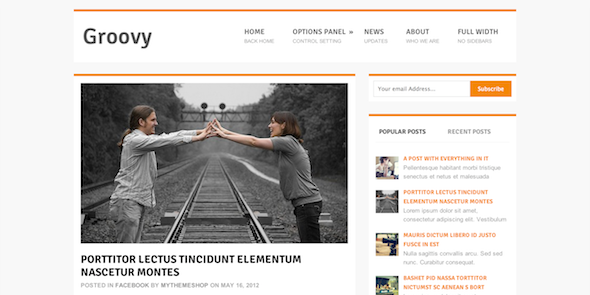Wordpress-Theme-For-Free-Groovy