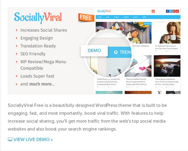 sociallyviral theme free download