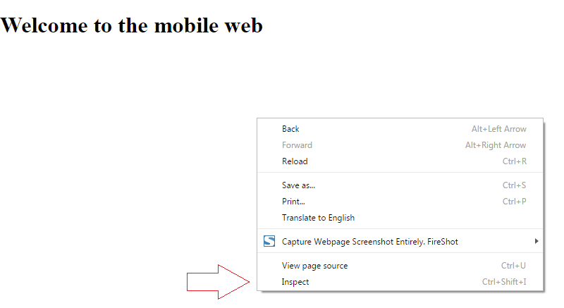 Chrome Accelerated Mobile Pages Validation